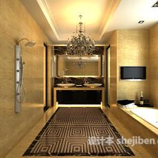 卫生间吊灯3d模型下载