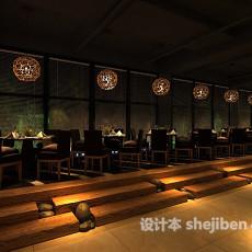 中餐厅3d模型下载