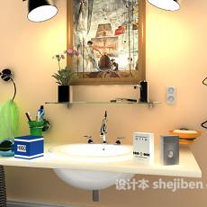 小卫生间3d模型下载