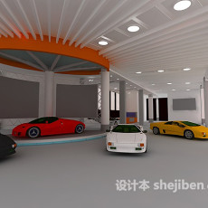 会展展厅设计3d模型下载