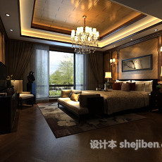 卧室家具3d模型下载