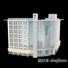 户外高楼3d模型下载