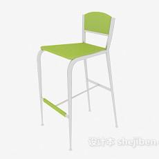 绿色高脚椅3d模型下载