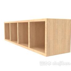 现代办公柜3d模型下载