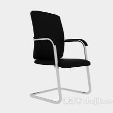简约扶手办公椅3d模型下载