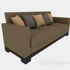 客厅家居多人沙发3d模型下载