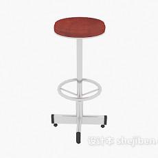 现代可移动凳子3d模型下载