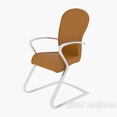 扶手办公椅3d模型下载