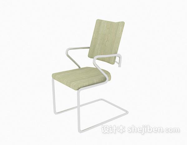时尚绿色办公椅