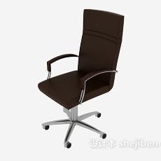 简约高背办公椅3d模型下载