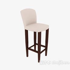 田园家居高脚椅3d模型下载