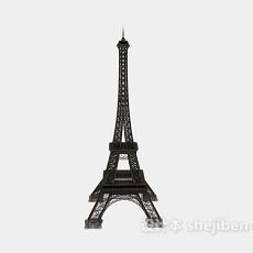 埃菲尔铁塔摆设3d模型下载