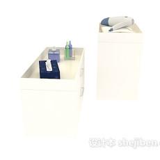 浴室柜3d模型下载