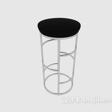 现代高脚椅3d模型下载