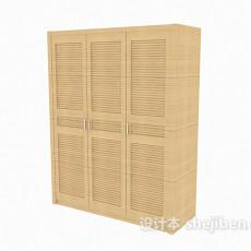 办公文件收纳柜3d模型下载