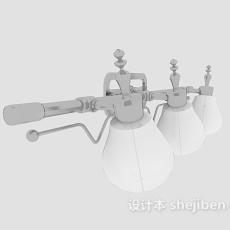 舞台射灯3d模型下载