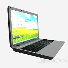 笔记本随身电脑3d模型下载