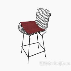 网状高脚椅3d模型下载