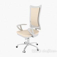 高背办公椅3d模型下载