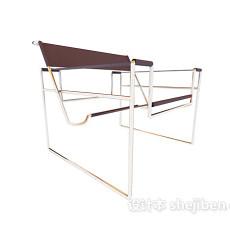 可折叠家居椅子3d模型下载