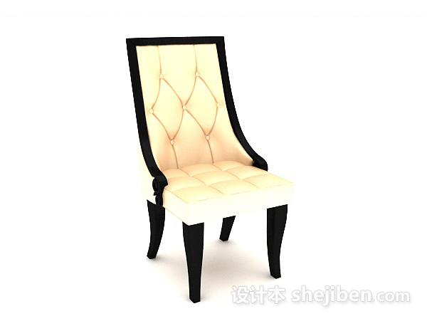 高背休闲椅子