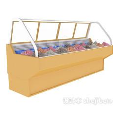 冰箱冰柜3d模型下载