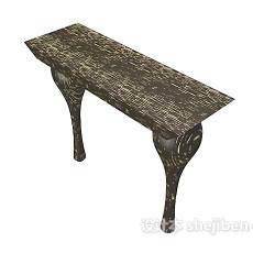欧式复古个性凳子3d模型下载