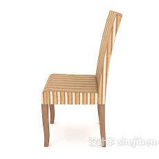 时尚大方餐椅3d模型下载