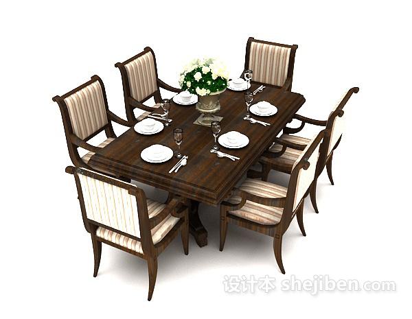美式复古餐桌