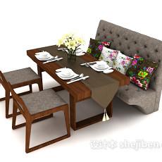 个性时尚餐桌3d模型下载