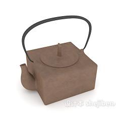 烧水壶3d模型下载