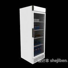 小卖店冰箱3d模型下载
