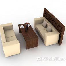 现代个性时尚餐桌3d模型下载