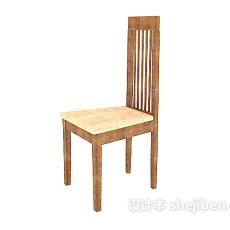 田园高背餐椅3d模型下载