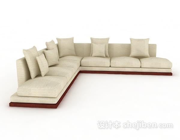 简约新中式沙发
