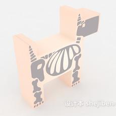 实木儿童玩具3d模型下载