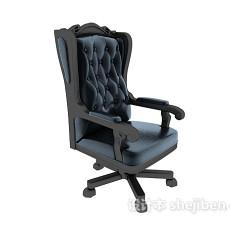 欧式高档老板椅3d模型下载