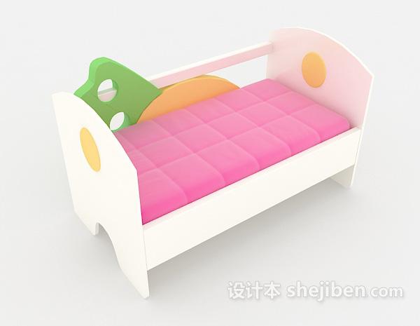 可爱儿童床