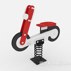 弹簧玩具车3d模型下载