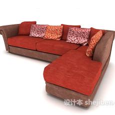 现代常见简约沙发3d模型下载