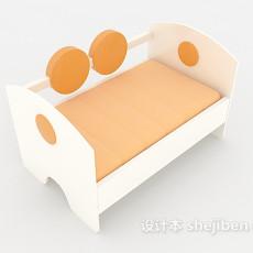 小巧儿童床3d模型下载