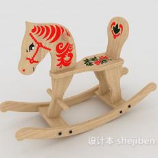 木马玩具3d模型下载
