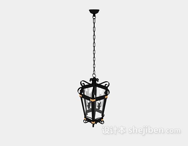 传统欧式金属吊灯