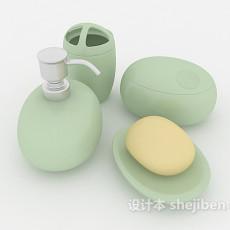 卫浴小件套装3d模型下载