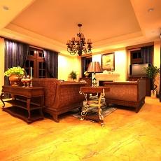 欧式家居客厅3d模型下载