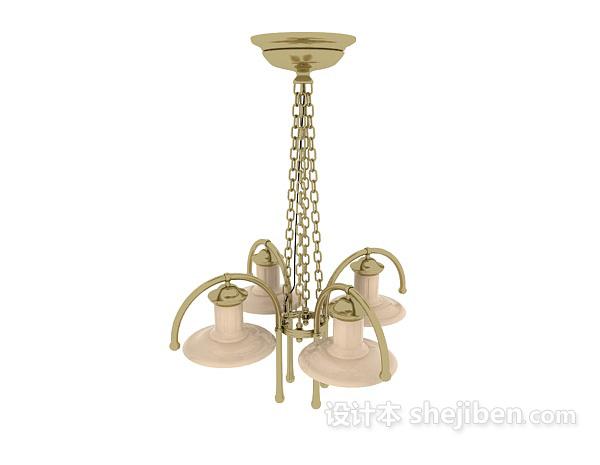 金属欧式吊灯