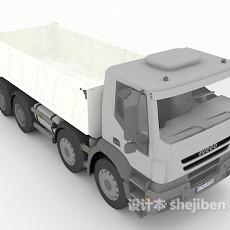 长途运货大卡车3d模型下载