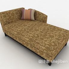 时尚休闲单人沙发3d模型下载