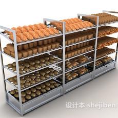 面包商品展架3d模型下载