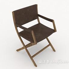 常见原木休闲椅3d模型下载